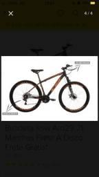 Bike KSW Xlt freio hidráulico/ alívio
