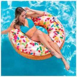 Bóia Inflável Redonda Donut De Granulado - Intex (Novo)