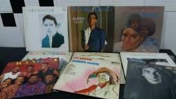 Oferta Kit com 9 LP antigos originais (tudo por 100 reais)