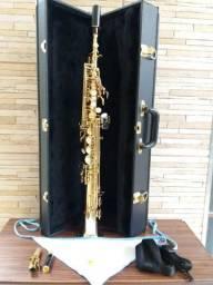 Sax soprano eagle 0806 divido no cartão e faço M.L