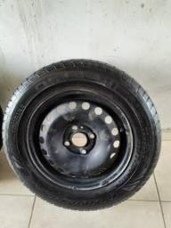 Jogo de rodas fumagali aro 14 com pneus