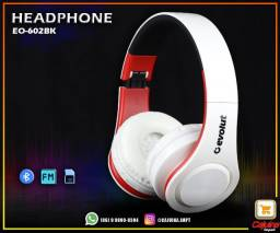 Headphone Bluetooth 5.0 Evolut Preto ? EO602-BK m14sd11sd20
