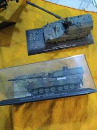 Miniatura Tanque Obus Panzerhaubitze 2000