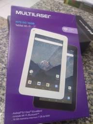 Tablet Multilaser novo na Caixa