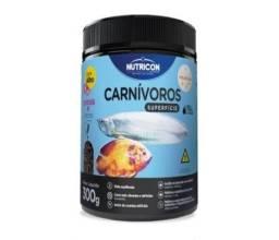 Ração para peixes carnívoros de superfície St 300g Nutricon