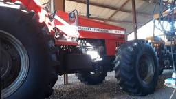Trotor MF 660 4x4 150cv 6 cilindros turbo todo original novo