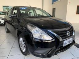 Nissan Versa 1.6 SV 2019 1° parcela pra 60 dias