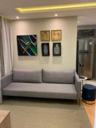 Apartamento 2 dormitórios com suíte em condomínio clube, Região Jardim América