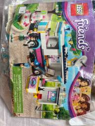 Lego friends carro trailer de reportagem