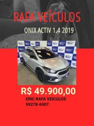 Onix activ 1.4 2019 R$ 49.900,00  Rafa Veículos - Eric ygu3
