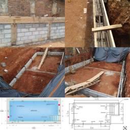 Projetos Hidráulico de piscinas