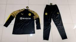 Conjunto Agasalho treino Borussia Dortmund  tamanho G