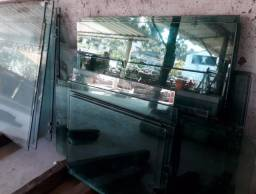 Placas de vidro diversos tamanhos
