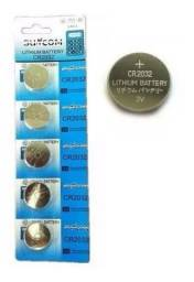 Bateria De Lition Cr 2032 Suncom cartela com 5 unidades