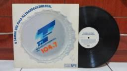 Lp Disco de Vinil - O Samba Que Rola Na Transcontinental (Coletânea)