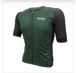 Camisa Ciclismo Nórdico Green Life - G. (Desconto de 10% no Dinheiro ou PIX)