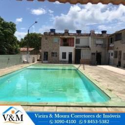 Ref 611 CM -HL 02/06 - bom de Morar, : piscina e chusrrasqueira - Duplex