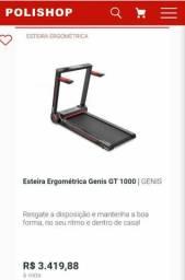 Vendo Esteira Gênio GT 1000 estado zera na garantia