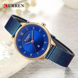 Relógio Feminino Fashion a prova dágua Blue
