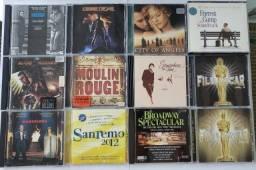 Lote CDs - Filmes E Shows