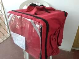 Título do anúncio: Caixa térmica isopor transporte moto. bolsa de transporte alimentos, caixa, mochila