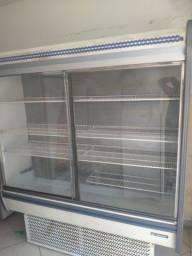 expositor refrigerado 2 portas gelopar