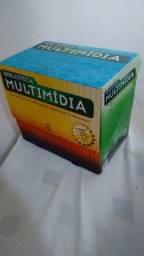 Biblioteca Multimídia - Difusão Cultural do Livro 14 DVD's lacrados