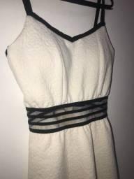 Vestido branco de marca DWZ