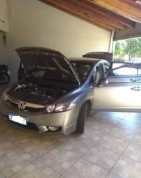 New Civic Lxs 2009_Top com interior caramelo