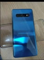 Samsung s10 usado na caixa único dono