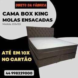 Título do anúncio: Cama box king