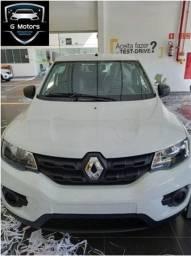Renault Kwid zen 1.0 Mecânico 2021 Kero Km Pronta Entrega!!!