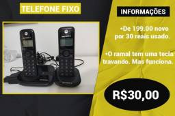 Telefone Sem Fio/ central + ramal - Umuarama / Pr