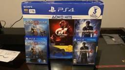 PS4 Slim HDR 1 TB + 2 Jogos