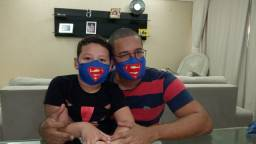 Máscaras artesanais infantis