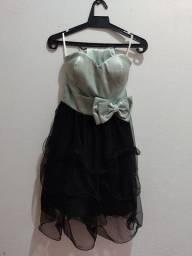 Vestido de cetim