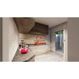 Casa para venda com 92 metros quadrados com 2 quartos