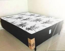 :: cama box de casal nao precisa de colchao 12 cm de espuma