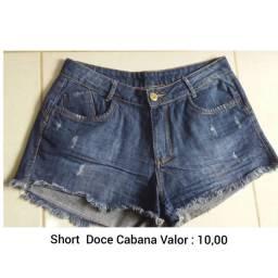 Shorts Jeans Doce Cabana
