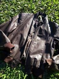 Jaqueta de couro Saxon
