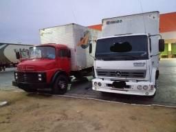 2 caminhão Mercedes Benz pra vender