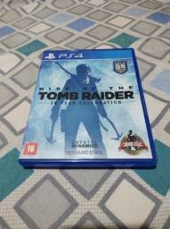 Jogo para PS4 Mídia Física Rise Of The Tomb Raider 20 Year Celebration