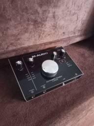 Interface de Áudio M audio M track 2x2m