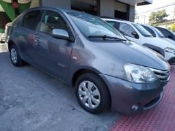 Etios XS 1.5 Sedan 2013 kit gás R$ 36.900