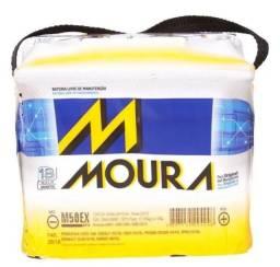Bateria Moura 12v 50ah M50EX Palio Spin Onix Cobalt Hb 20 Clio Kangoo