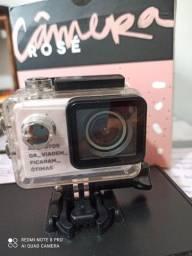 Câmera rosé Imaginarium