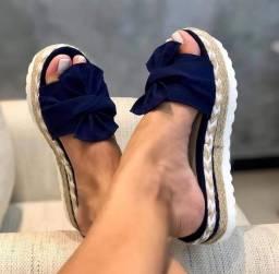Tamanco sandálias tratorado