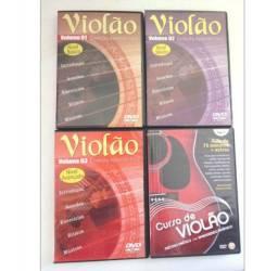 Aulas de violão em DVD's