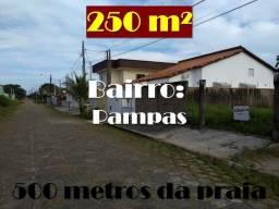 Terreno no Balneário Pampas a 500 metros da praia - TE0028