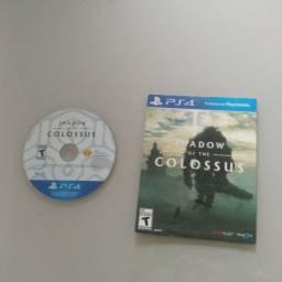 Shadow of the colossus remastered PS4, estado otimo. Midias Fisica